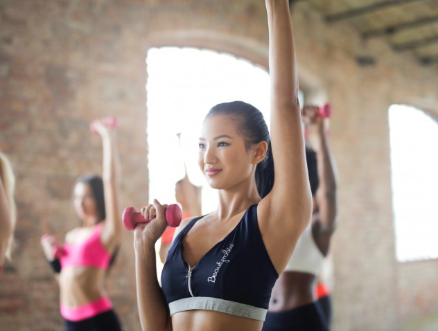Γυμναστήριο και καλλυντικά